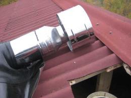 Монтаж дымовой трубы, без протечек, своими руками
