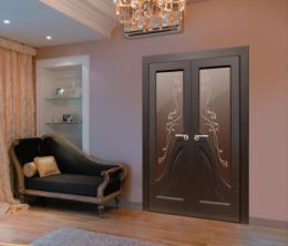 Установка двойной межкомнатной двери