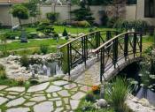 puente de jardin