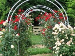 арка из профильной трубы
