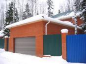 как построить кирпичный гараж