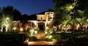 Садово - парковые светильники в ландшафтном дизайне, как правильно выбрать светильник, композиции с применением садово-парковых