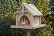 . Кормушка для птиц: полезное изделие своими руками, как сделать кормушку правильно, как повесить кормушку для птиц