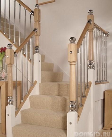 фото перила лестницы