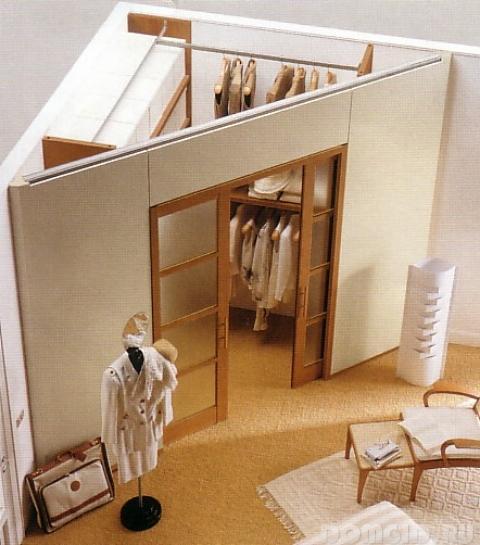 гардеробные комнаты,