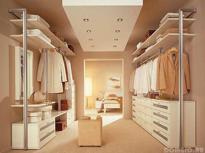 Гардеробные комнаты фото интерьер