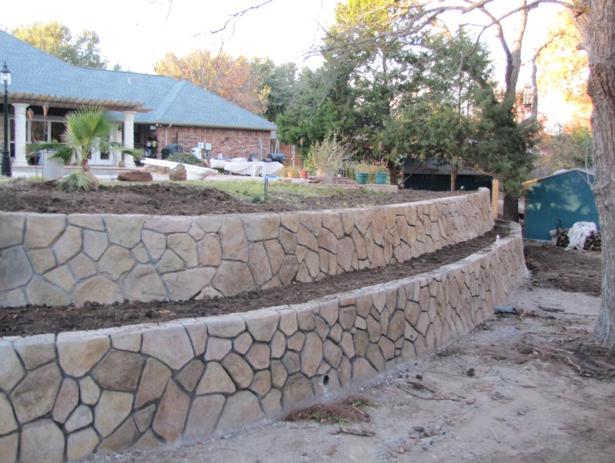 Подпорная стенка из бетона своими руками 34