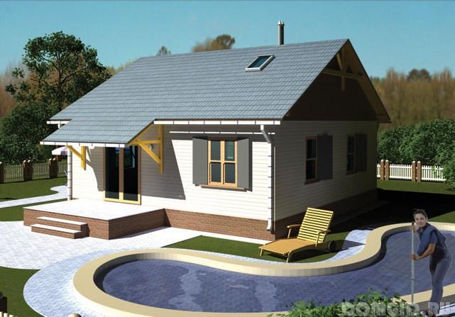 Ландшафтный дизайн участка 10 соток с домом