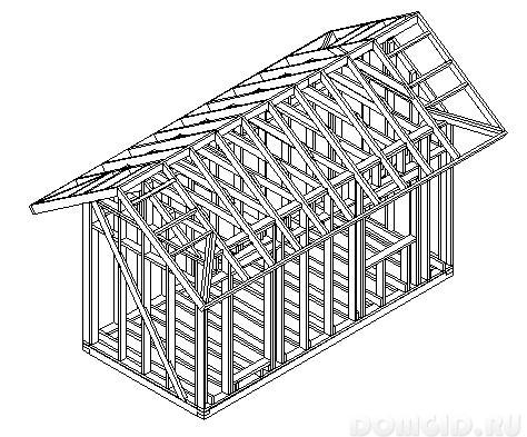 Сколько стоит построить бытовку своими руками