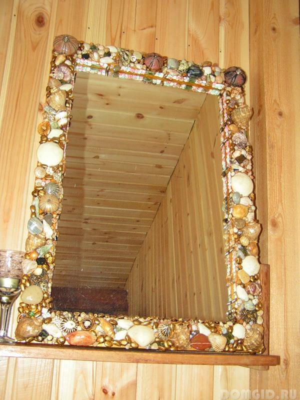 Рамки для большого зеркала своими руками