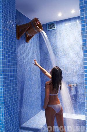 într-o saună cu varicoză