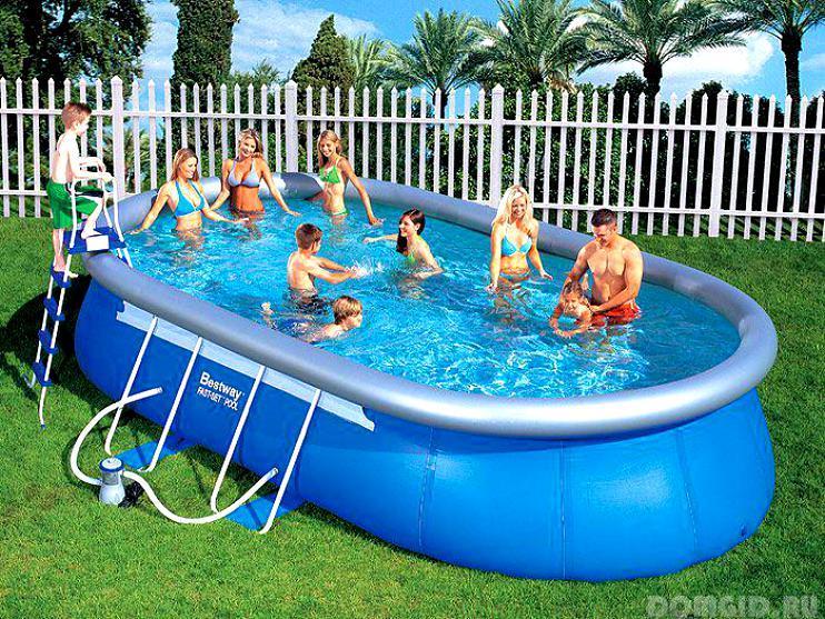 бассейн каркасный Intex инструкция по сборке - фото 7
