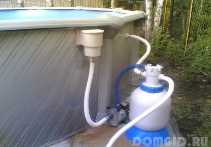 Плавающий фильтр для бассейна своими руками 72