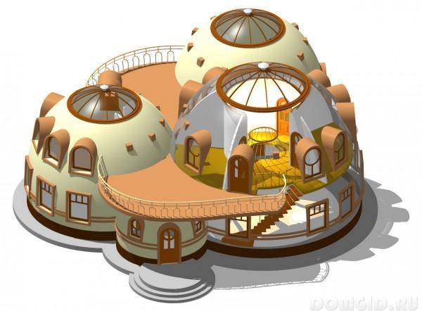 Картинки по запросу купольные дома технология
