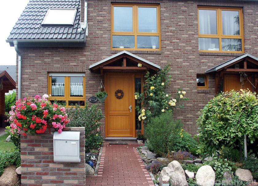 Как красиво сделать вход в дом фото
