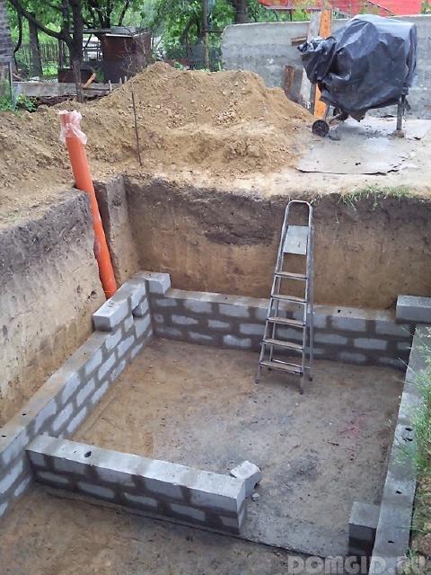 Как выкопать погреб в готовом гараже