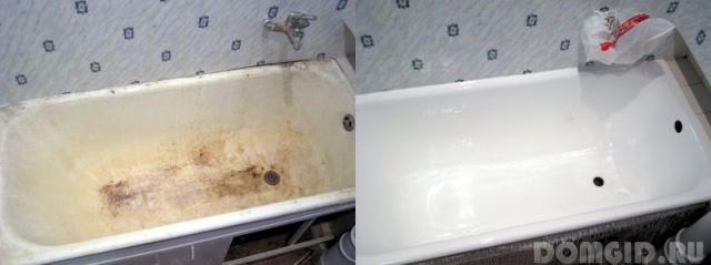 Реставрация ванны своими руками Plastall Украина 78