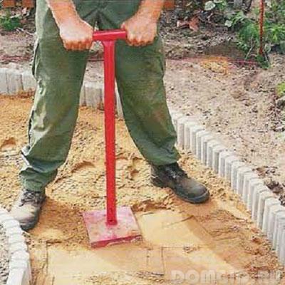 Как правильно сделать дорожки садовые