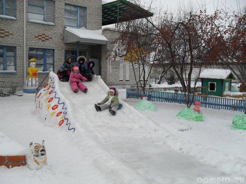 Ледяные горки своими руками 225