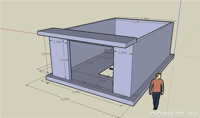Программа для проект гаража