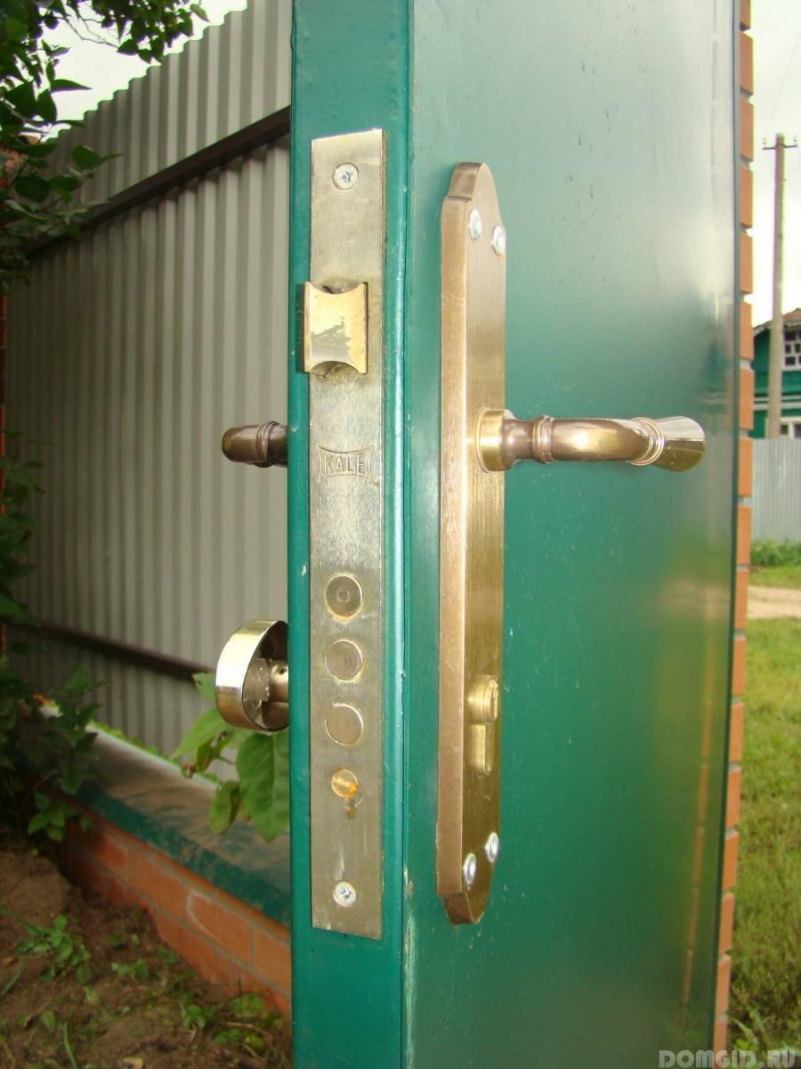 Установка врезного замка в двери - описание технологии и список 27