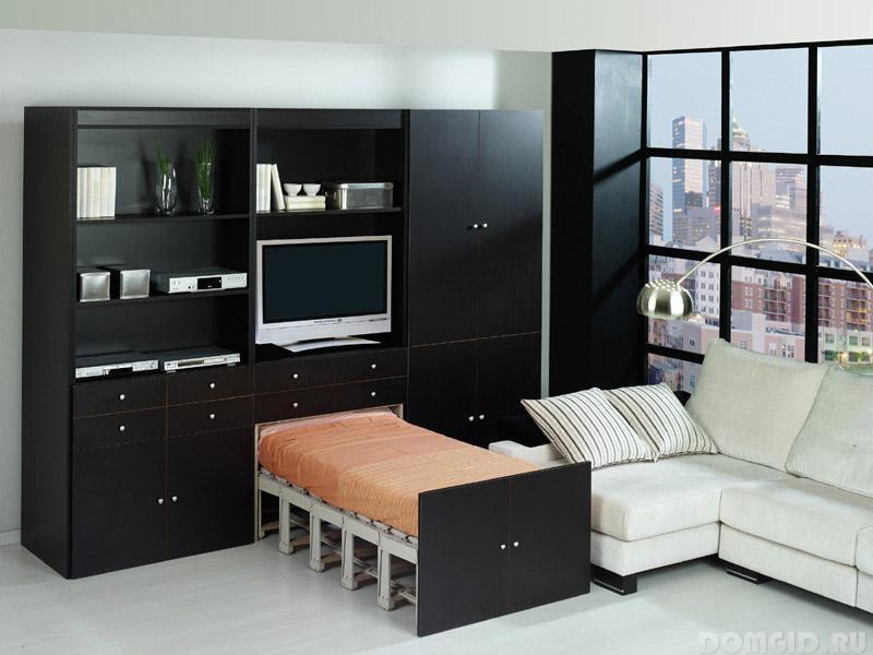 Современная мебель-трансформер в интерьере малогабаритной квартиры, полезные советы