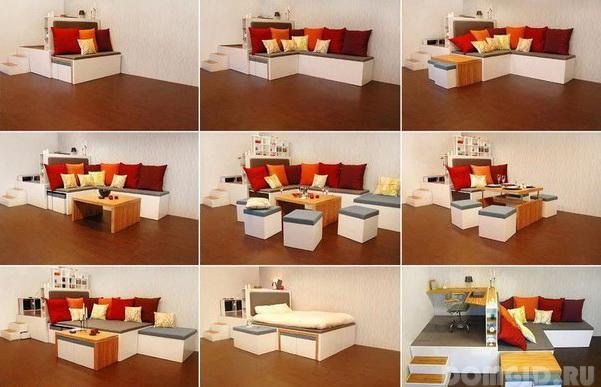 Корпусная мебель трансформер