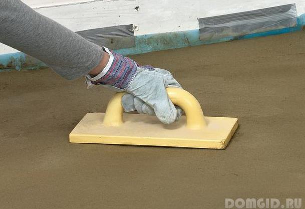 Как сделать бетонную поверхность шероховатой