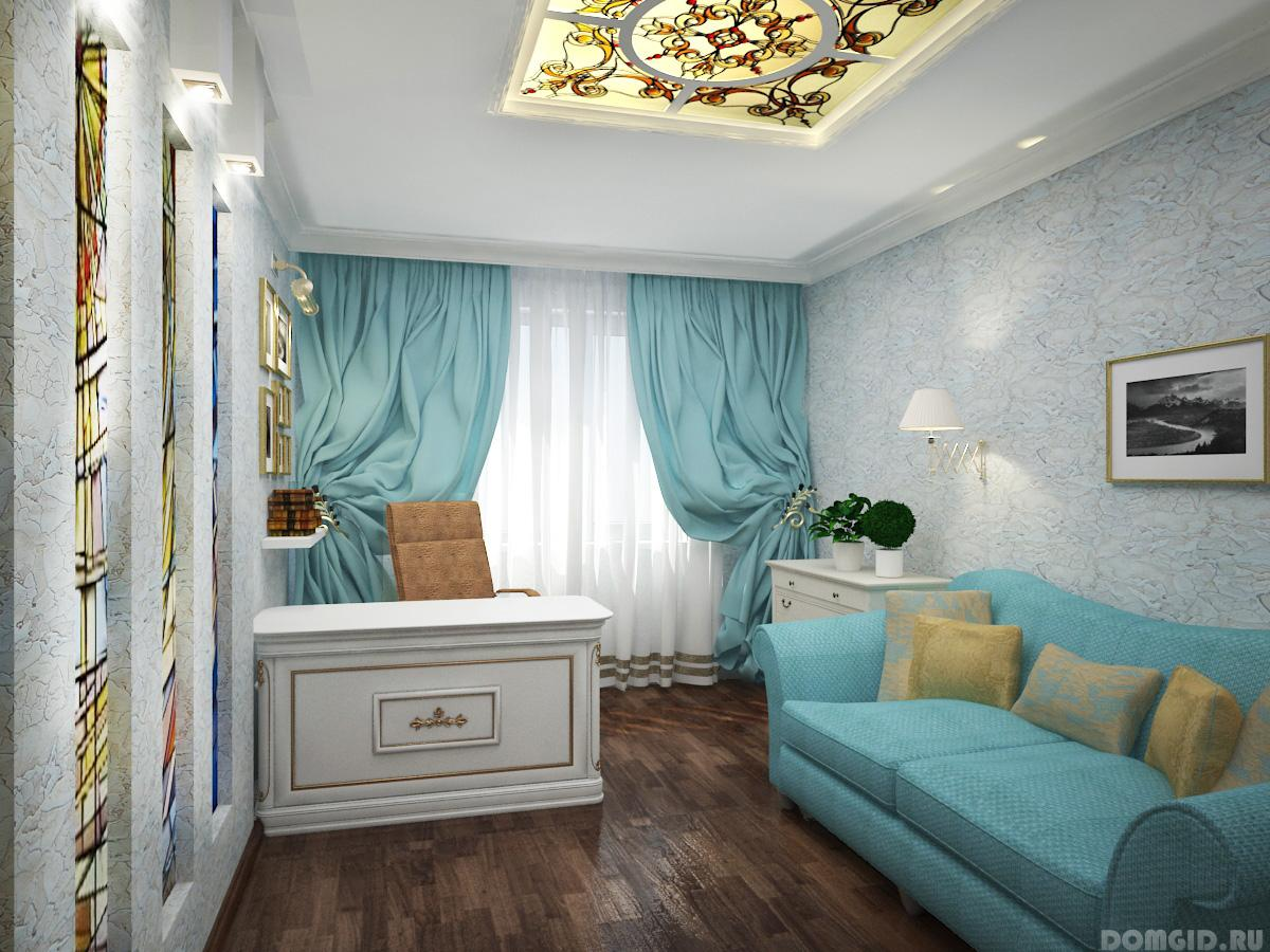 Дизайн комнаты кабинета