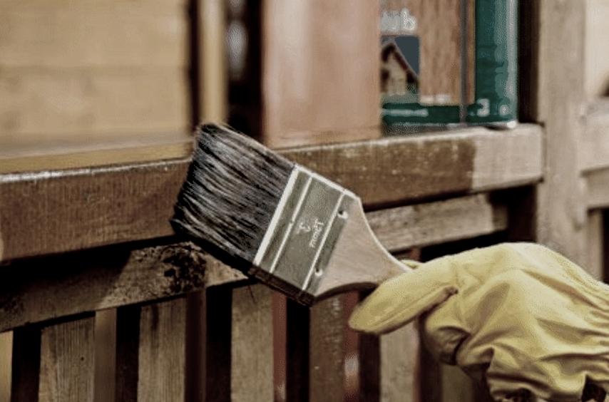 Как правильно покрасить забор своими руками, технология покраски забора на дачном участке