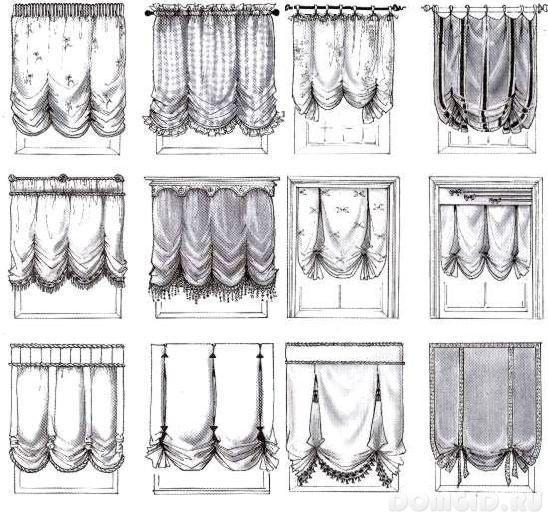 Английские шторы своими руками пошаговая инструкция 43