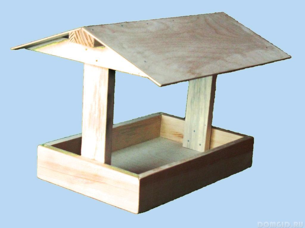 Как сделать кормушку для птиц коробки