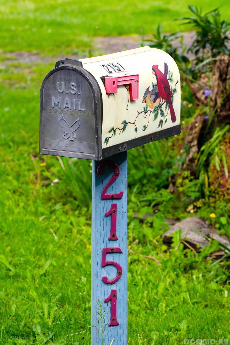Своими руками оригинальный почтовый ящик