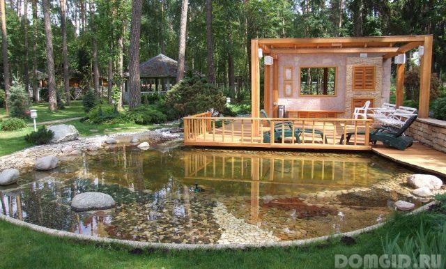 Жидкая гидроизоляция пруда наливной пол на деревянной основе