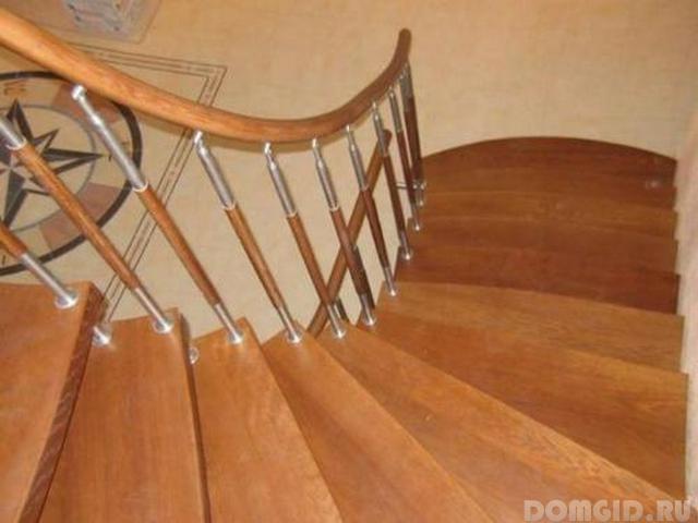 Перила для лестницы своими руками фото 975