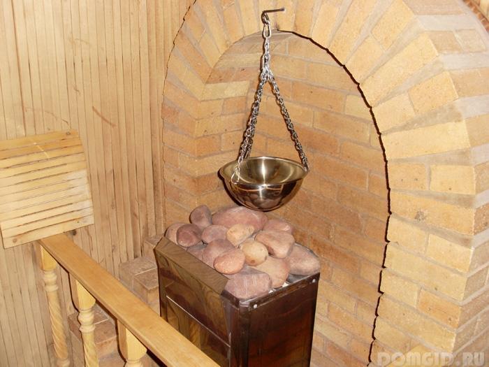 Как сделать каменку для бани 38